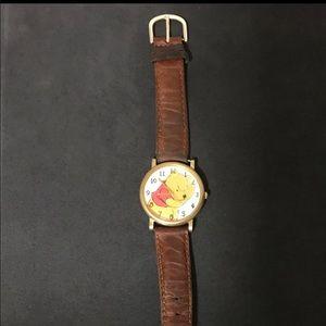 Vintage Pooh timex watch